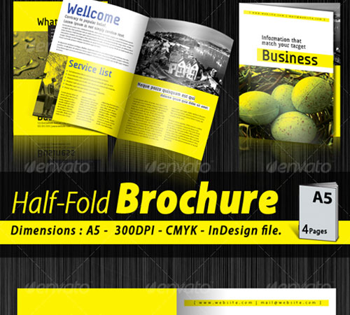 20 a5 halffold corporate brochure Top Result 20 New Half Fold Brochure Template Free Photos 2017 Hgd6