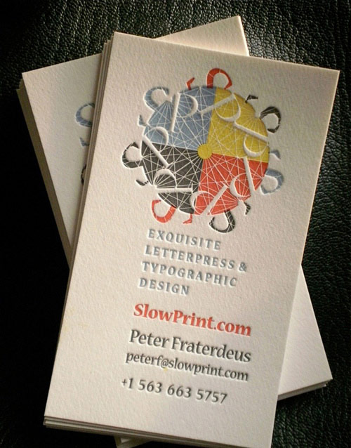 So Creative Colorful Business Card