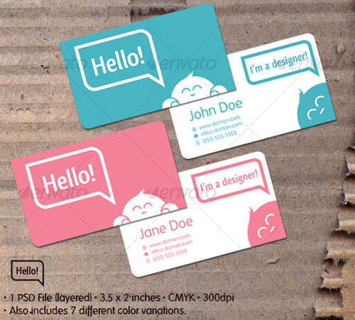 Hello! Card