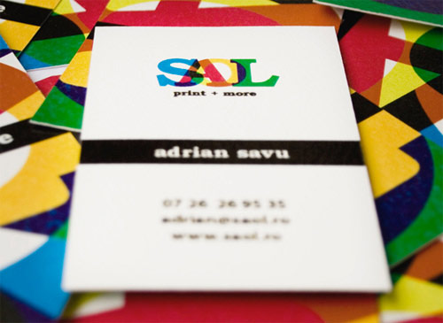Simple Yet Amazing Colorful Business Card