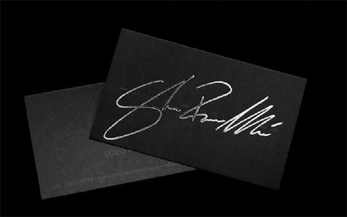 Business Card for: Guido Ricci Masè