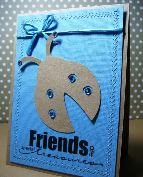 Well-Crafted friendship card