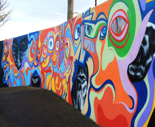 So Awesome Mural Paint Art