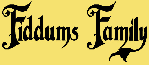 Fiddums Family 1.0 font