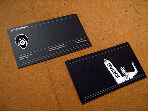 Business Card for: Bruno Martins