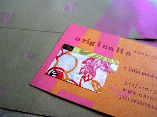 Well Made Colorful Business Card