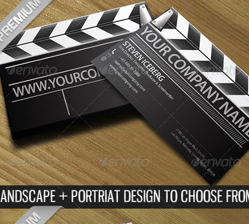 Film Director Creative Business Card