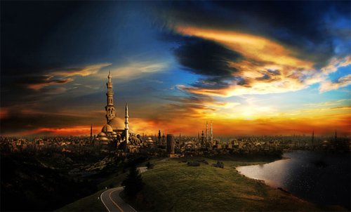 matte painting / photo manipulation 2009