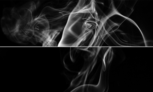 Appealing smoke art textures