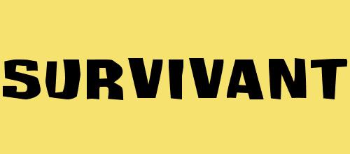 Survivant font
