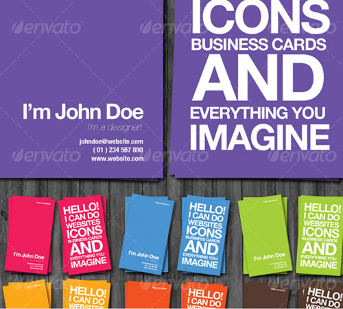 Awesome Designer Business Cards