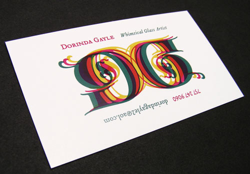 Admirable Colorful Business Card