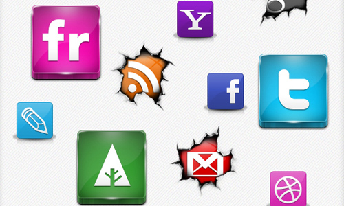 Social Icons Mega Bundle