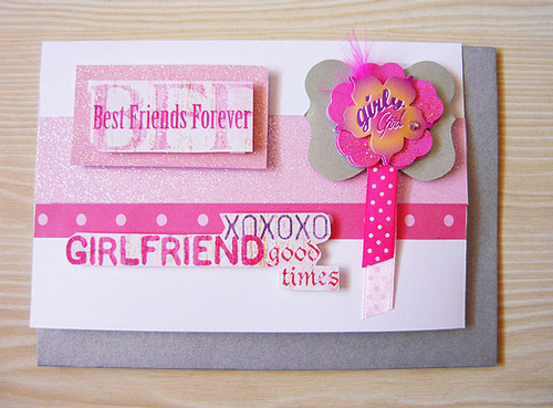 Oh! so lovely friendship card