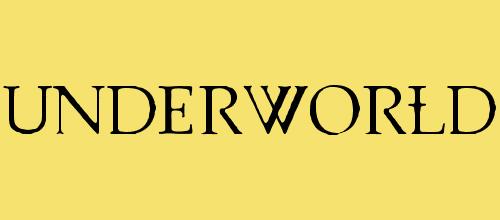 UnderWorld 1.0 font