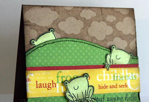 Endearing friendship card