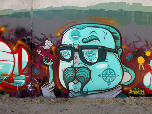 Nicely Made Mural Paint Art