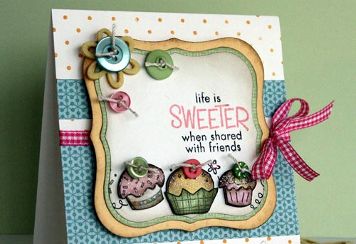 So Sweet friendship card