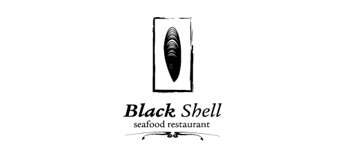 Black Shell logo