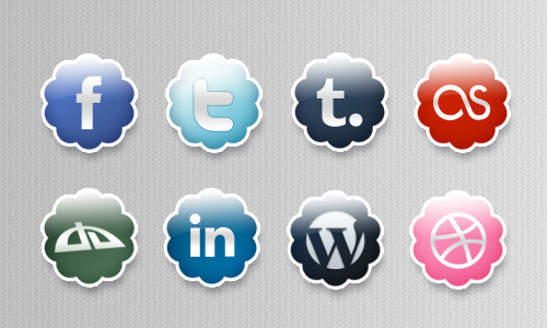 Cloud Icons - Free PSD