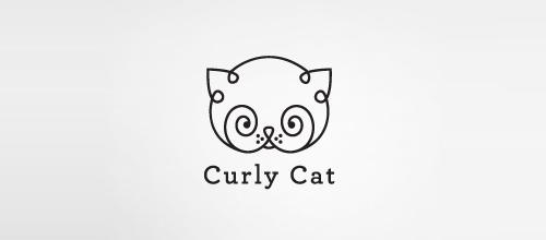 Curly Cat logo