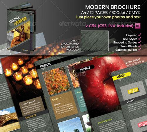 Modern A4 Brochure