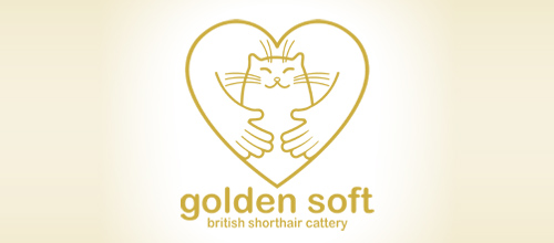 golden soft logo