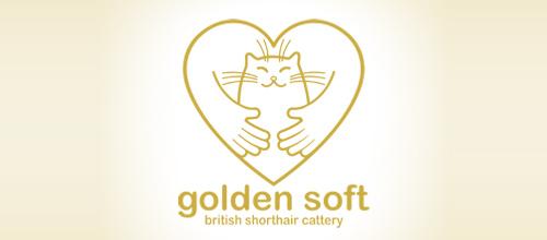 golden soft logo