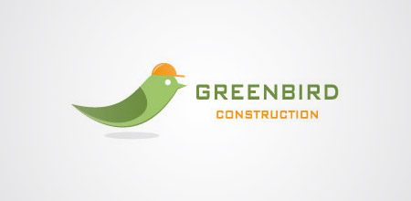 bird constructions logo design