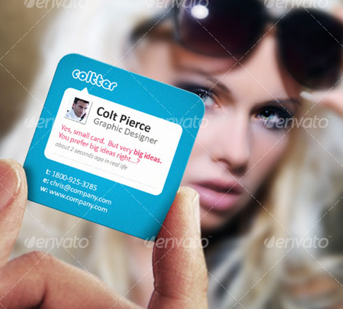 usiness Card Designed to Impress