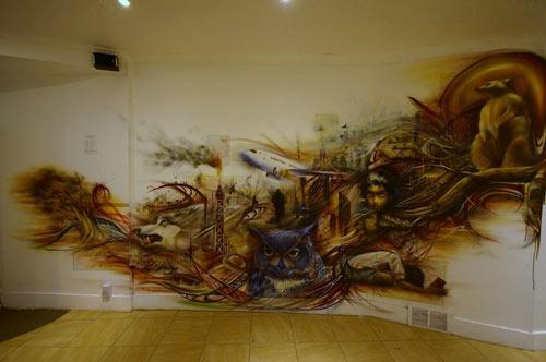 Inspiring Mural Paint Art