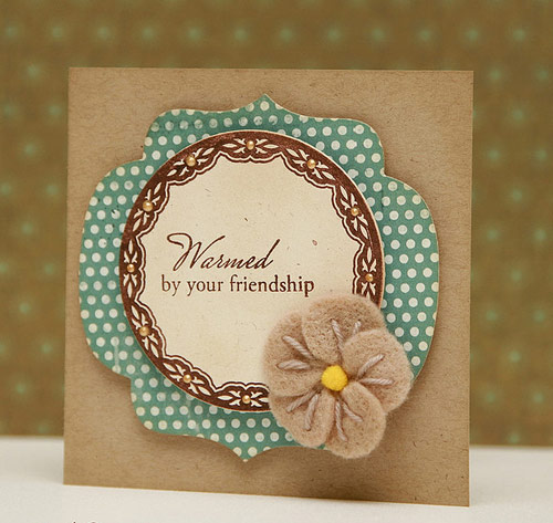 Fabulous friendship card