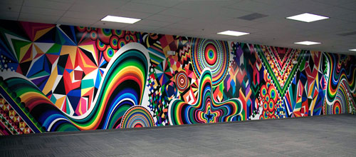 Very Awesome Mural Paint Art