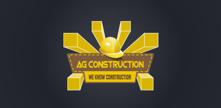 cool construction logo design