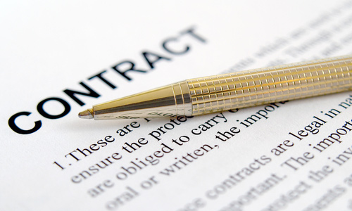 Always have a contract