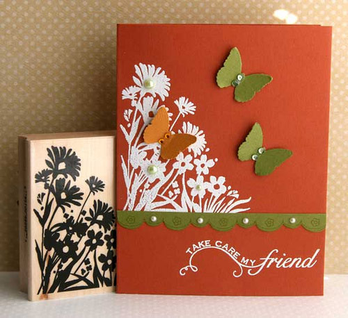 Amazingly designed friendship card