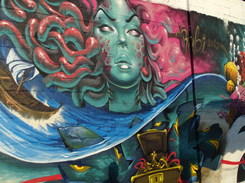 Indeed Creative Mural Paint Art