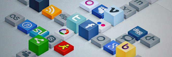 A New Collection of Free Social Media Icons