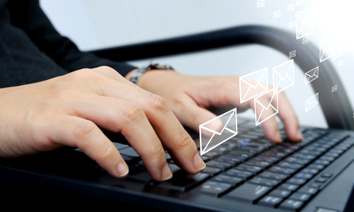 Use only two email accounts