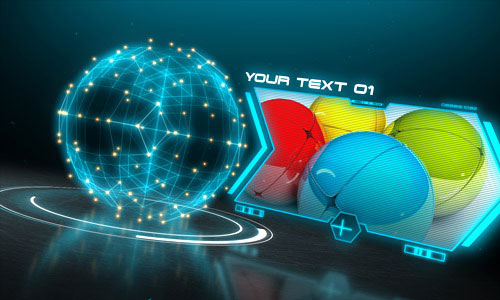 30 futuristic after effects templates | naldz graphics, Presentation templates