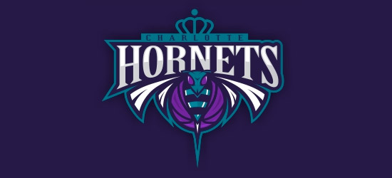 hornets basketball logo design