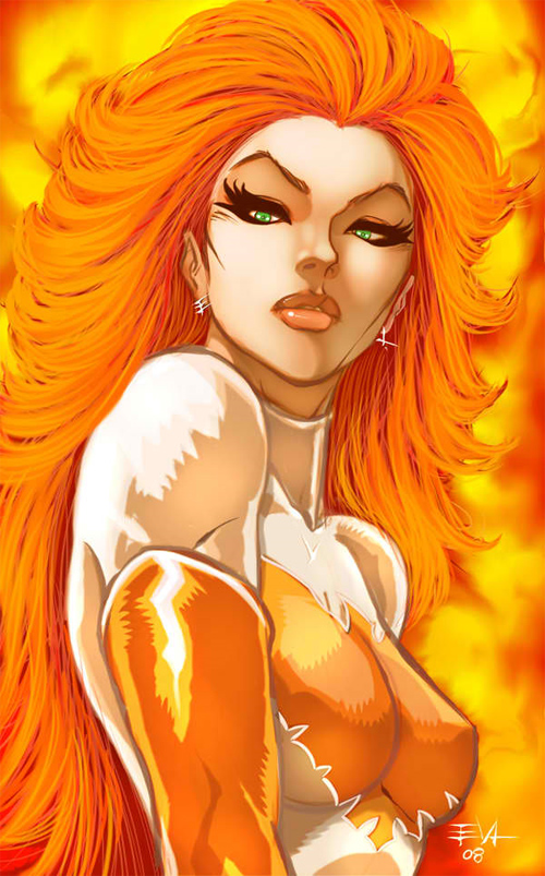 jean grey colors