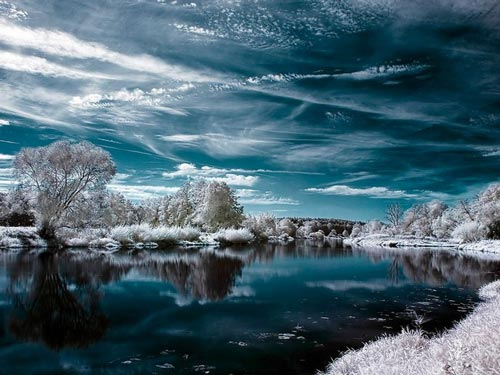 Unexplainable View of Winter Photo