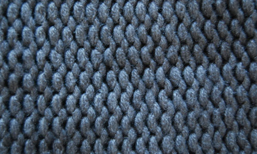 Appealing Knitted Fabric Texture