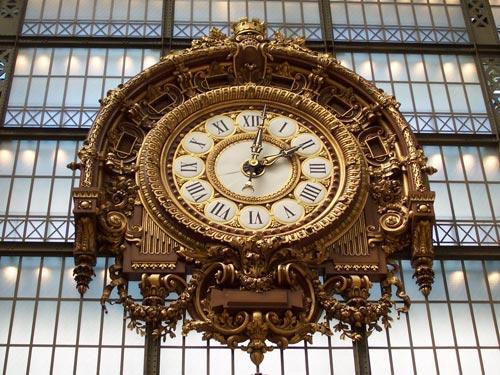 Astounding clock photo