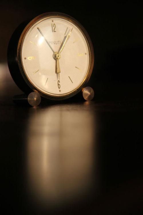 Ventage clock photo