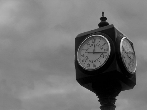 Simply stunning clock photo
