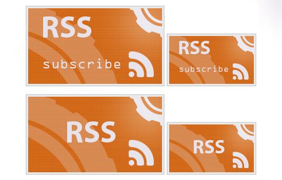 Evolving RSS Feed icons 2010