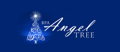 angel tree Christmas logo