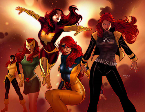 evolution jean grey